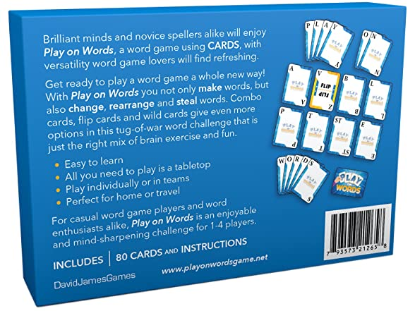 Play On Words Card Game - Extra-creative