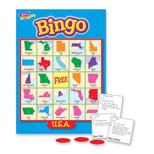 U.s.a. Bingo Game By Trend | Michaels®