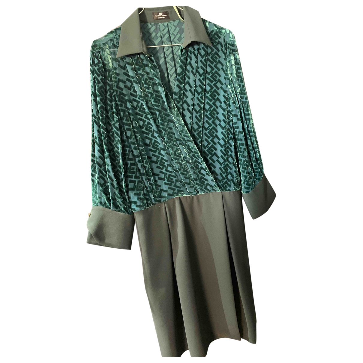 Elisabetta Franchi \N Green dress for Women 40 FR