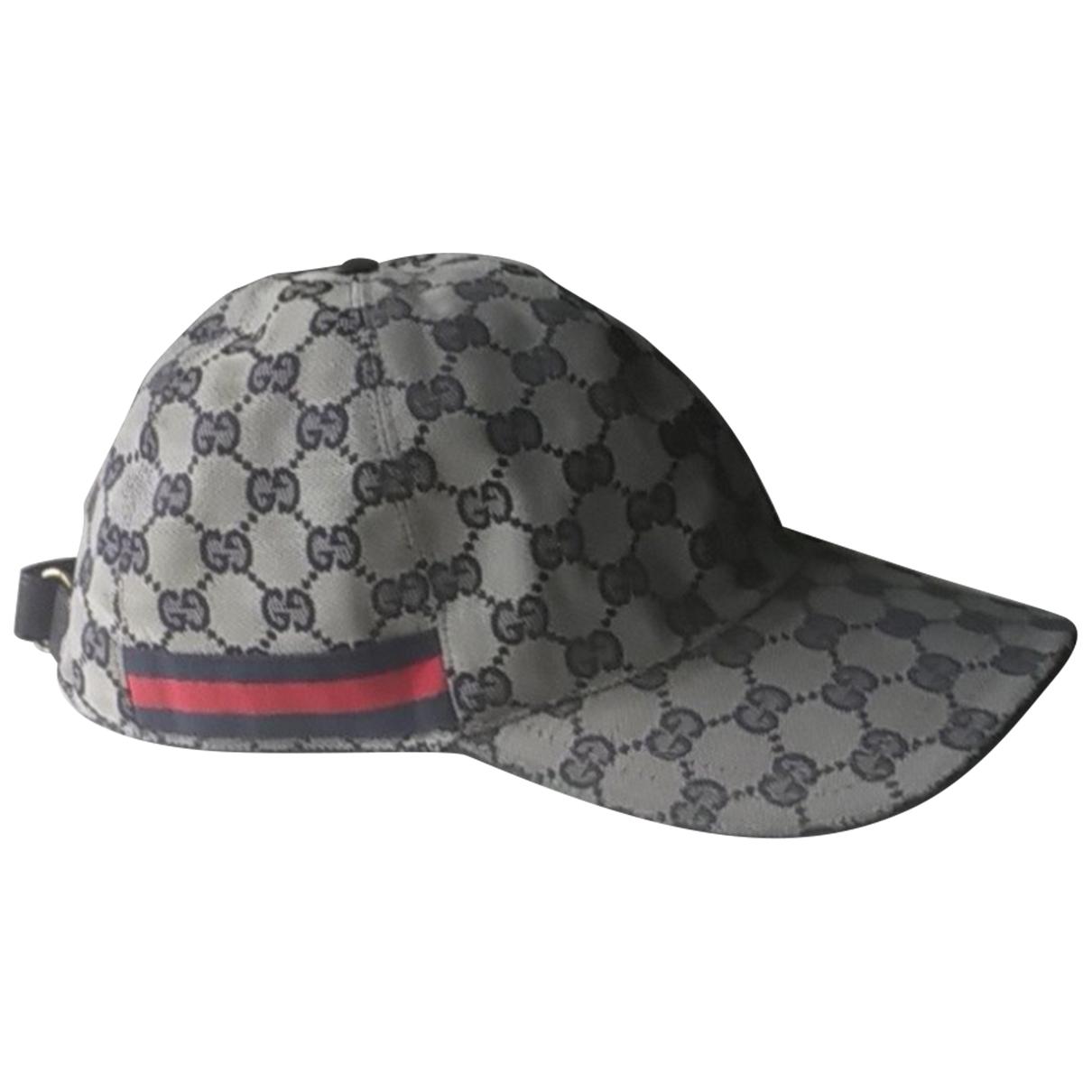 Sombrero / gorro de Lona Gucci