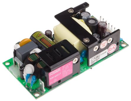 TRACOPOWER , 38W Embedded Switch Mode Power Supply SMPS, 3.3 V dc, 5 V dc, Open Frame