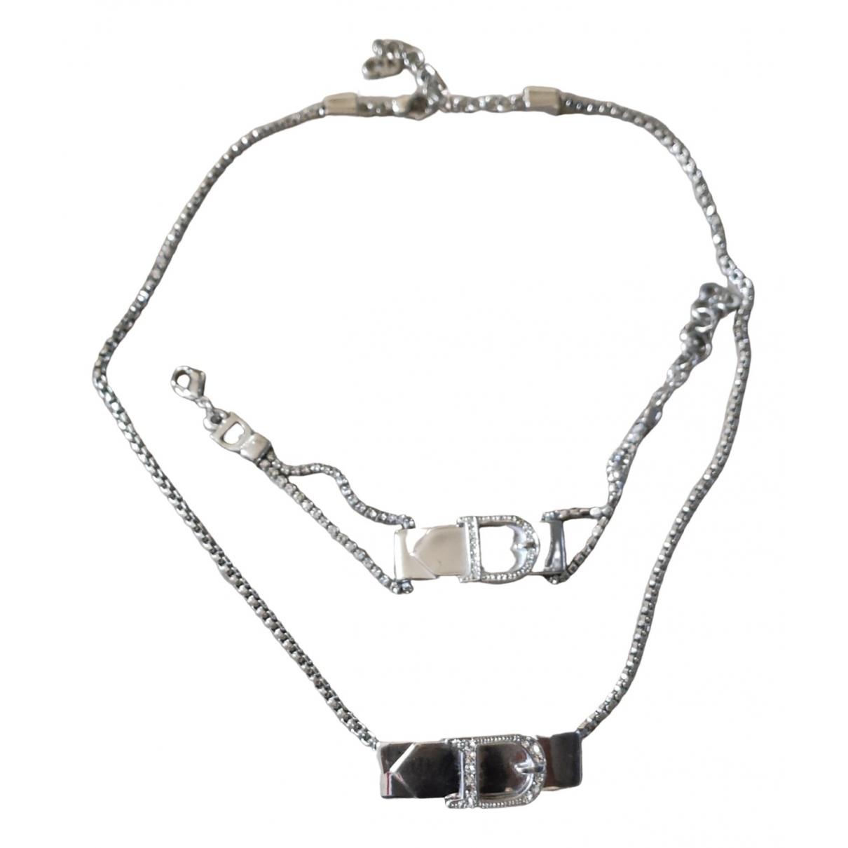 Dior - Parure   pour femme en metal - argente