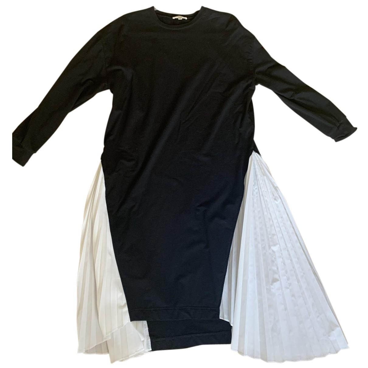 - Robe Oversize pour femme en coton - noir