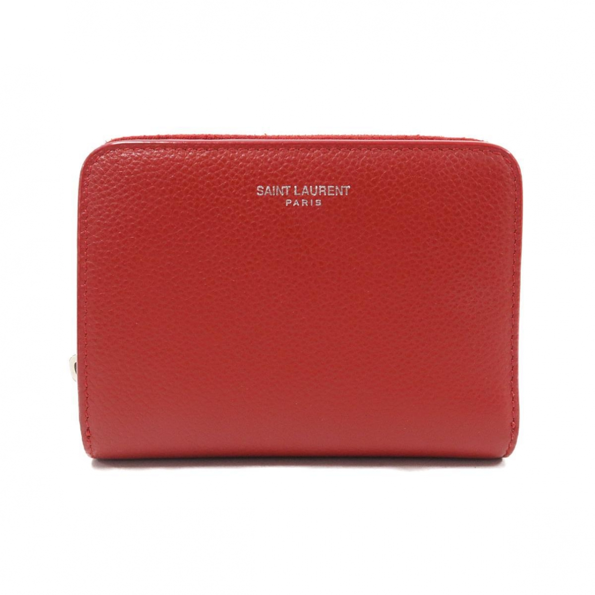 Saint Laurent \N Portemonnaie in  Rot Leder
