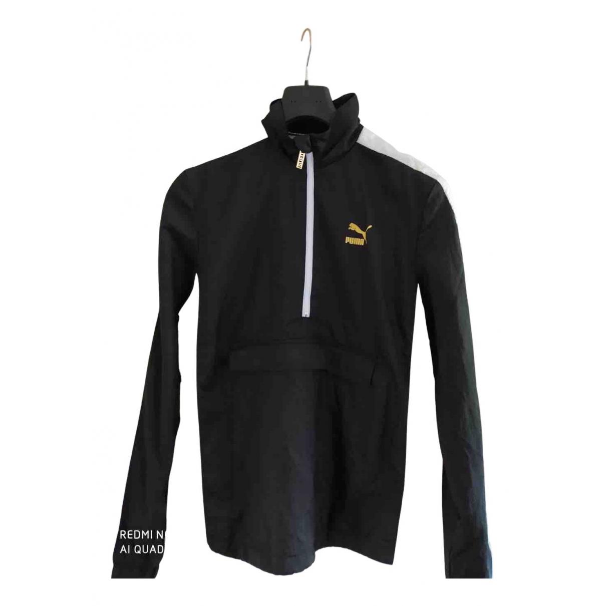 Puma \N Jacke in  Schwarz Polyester