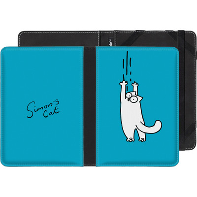 Amazon Kindle Touch eBook Reader Huelle - Scratching Over Blue von Simons Cat