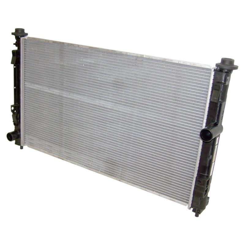 Crown Automotive 68004049AA Jeep Replacement Radiator for Various 2007-2018 Jeep, Dodge & Chrysler Models; 34 X 20.87, 1 Row