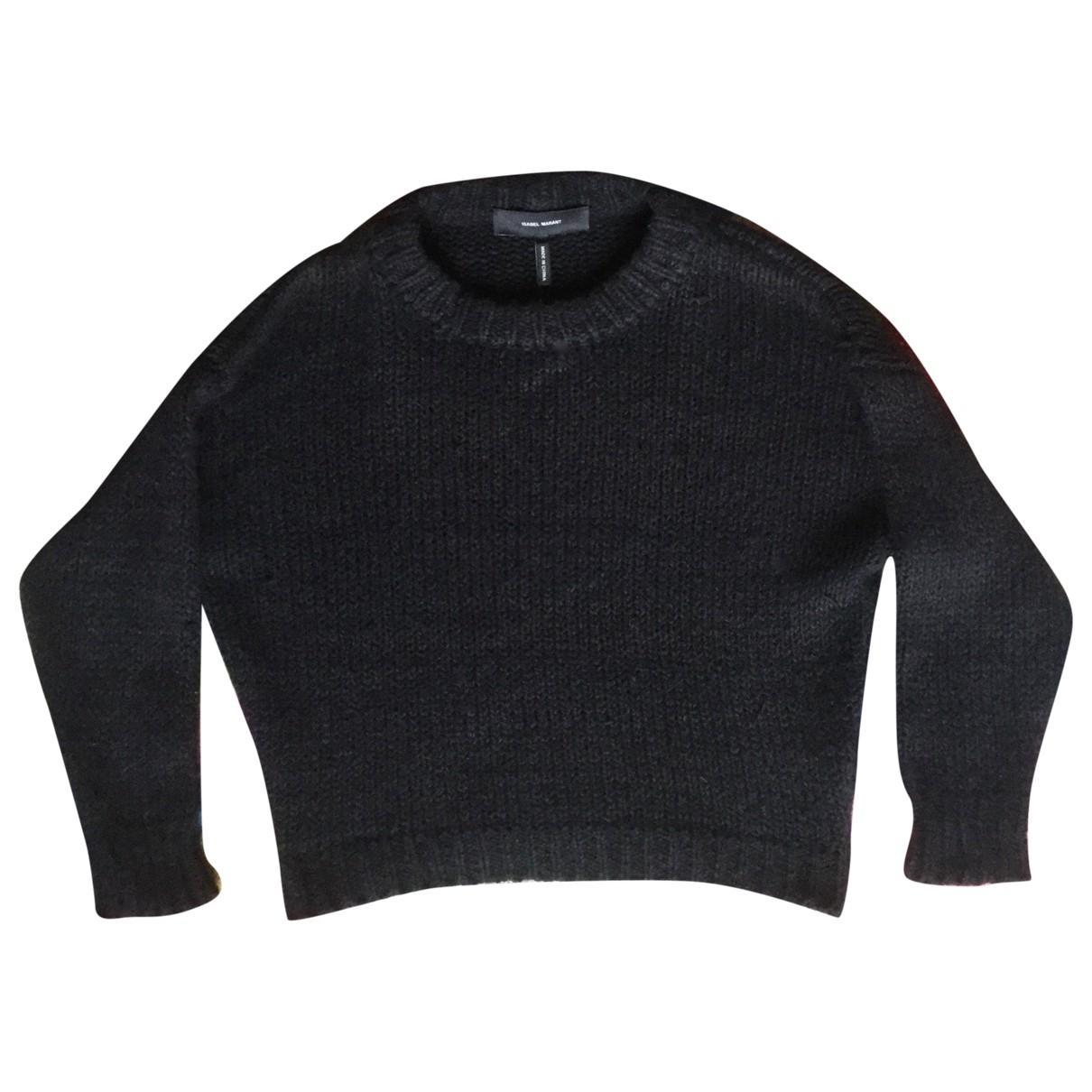 Isabel Marant \N Black Cotton Knitwear for Women 38 FR