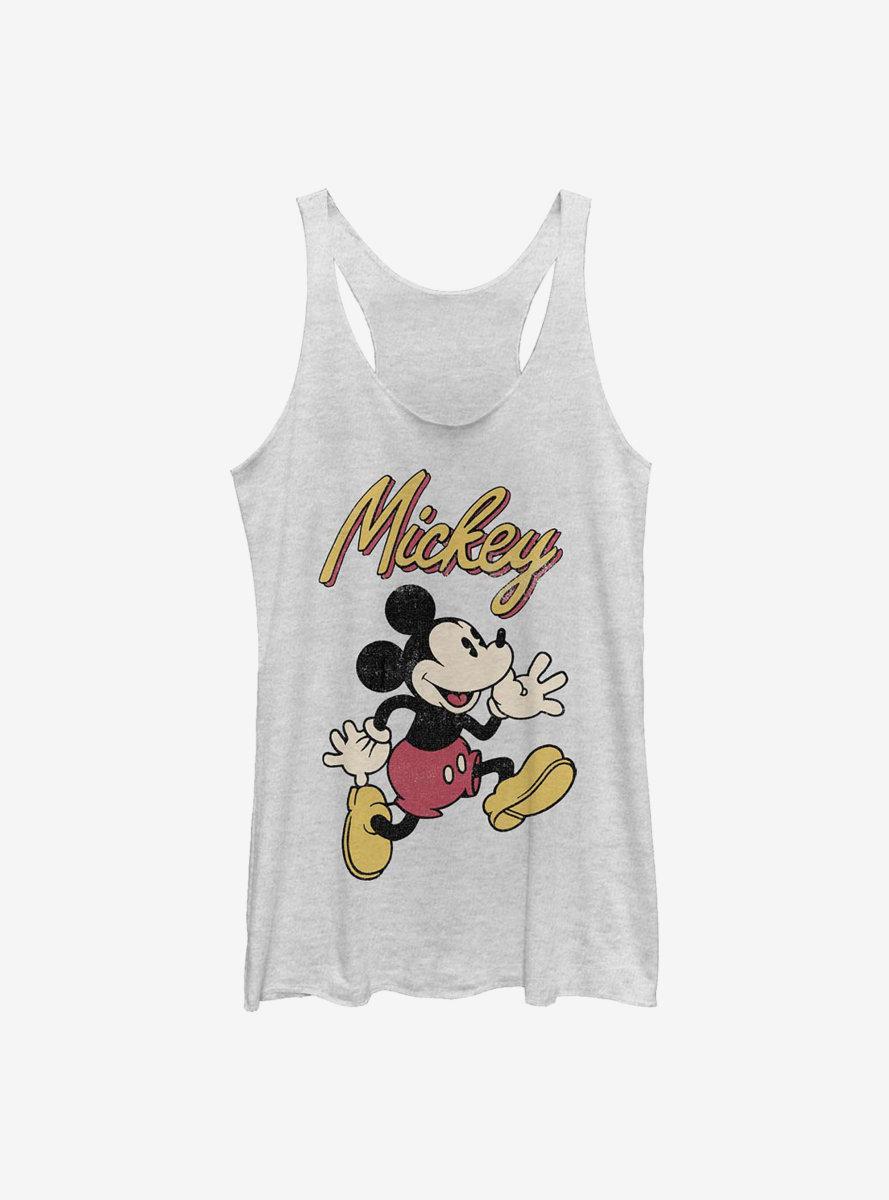 Disney Mickey Mouse Vintage Mickey Womens Tank Top