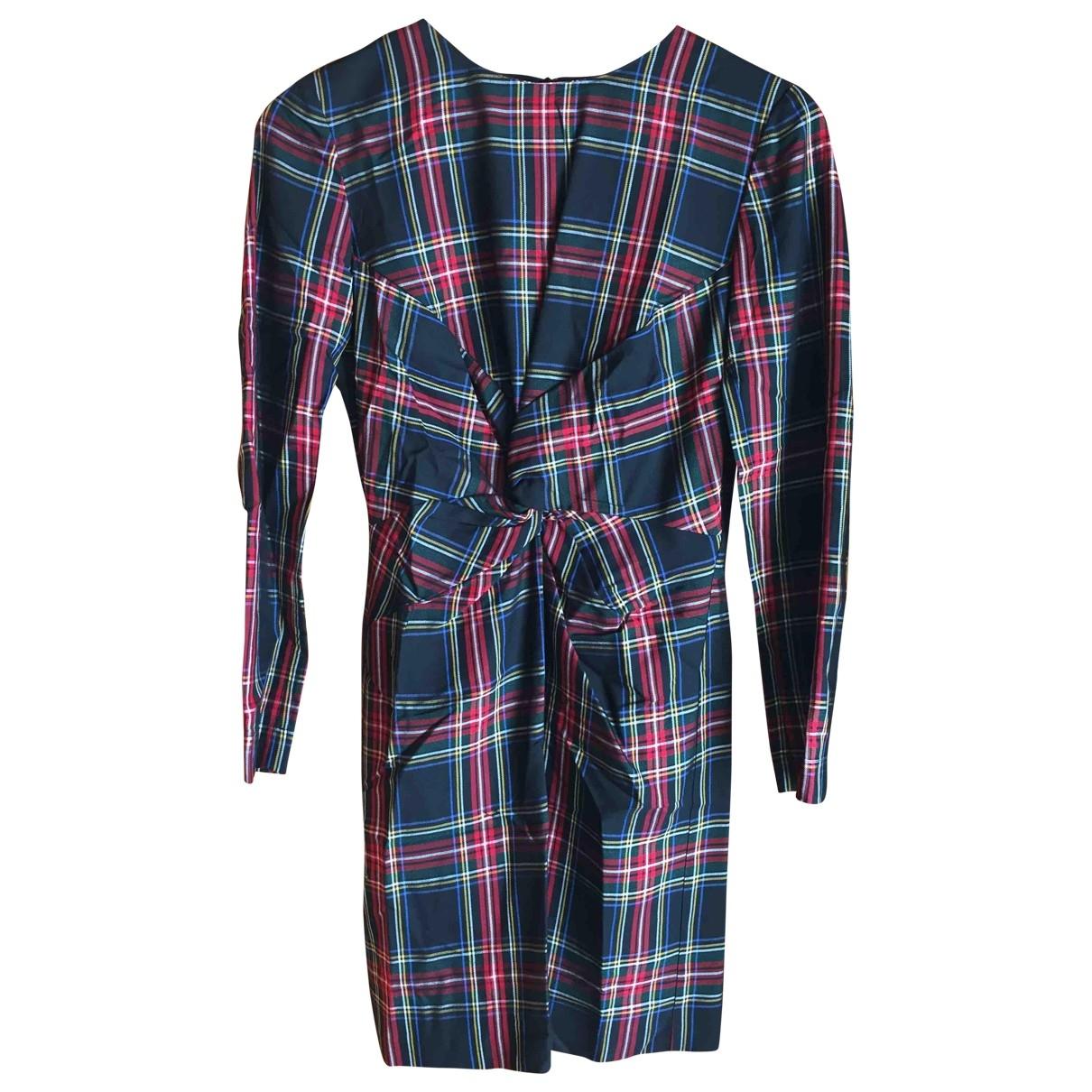 Maje Fall Winter 2019 Kleid in  Schwarz Baumwolle