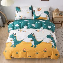 Dinosaur Print Bedding Set Without Filler