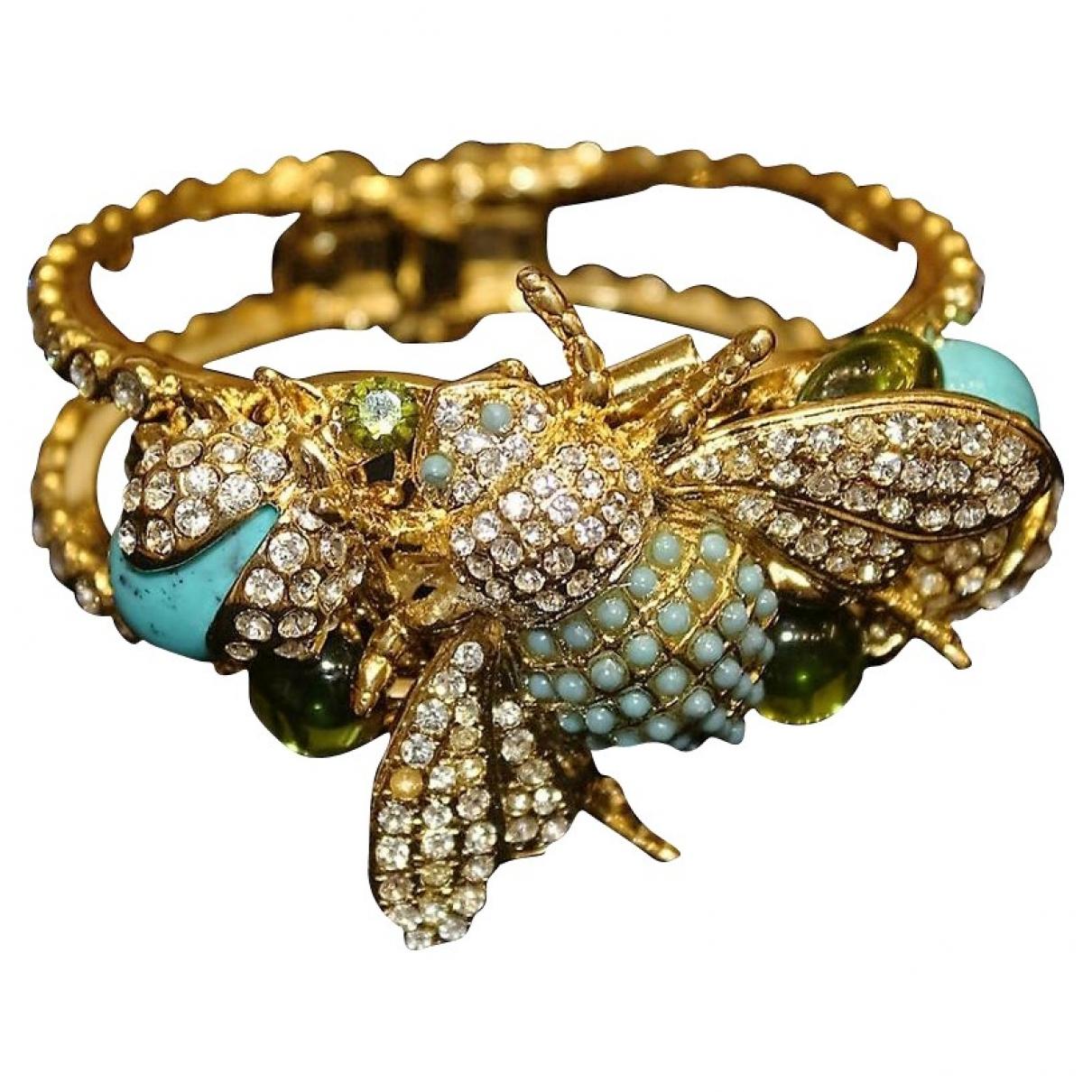 Carlo Zini - Bracelet   pour femme en metal - dore