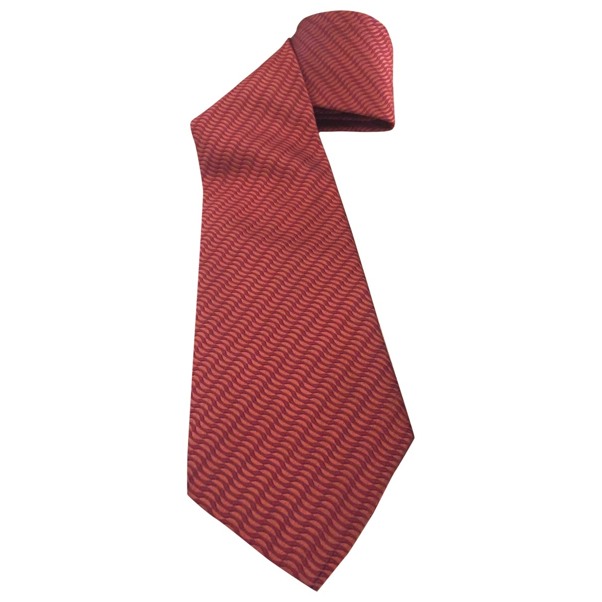 Dior \N Krawatten in  Orange Seide