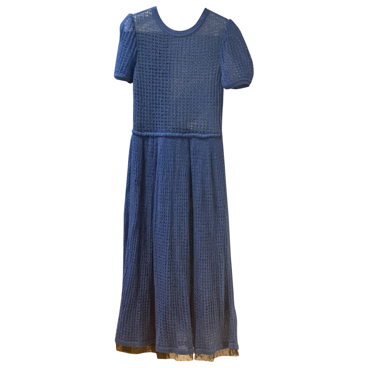 Red Valentino Garavani N Blue Wool dress for Women XS International