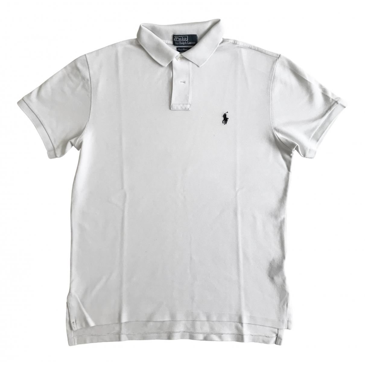 Polo Ralph Lauren - Tee shirts   pour homme en coton - blanc