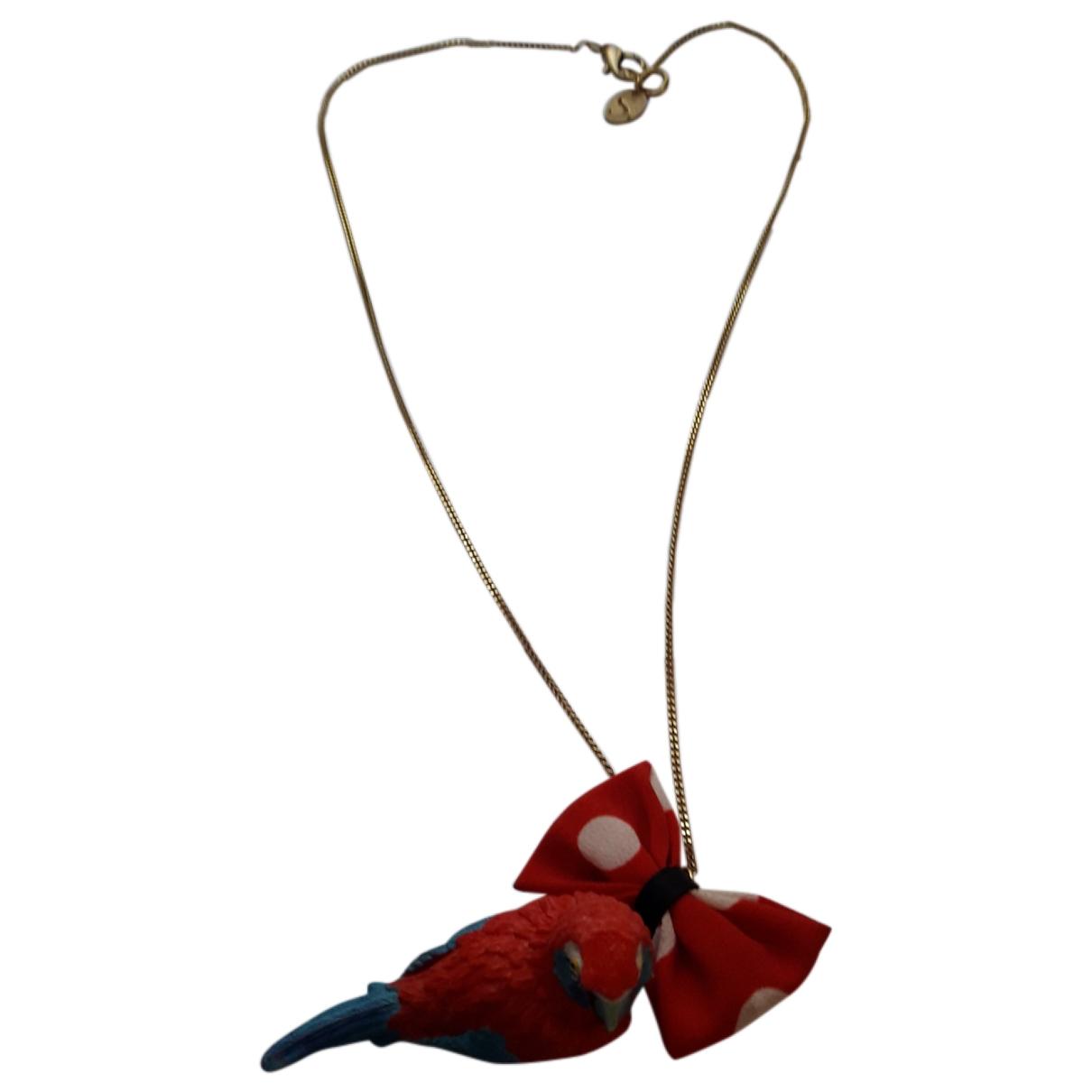 Les Bijoux De Sophie - Collier   pour femme en metal - rouge