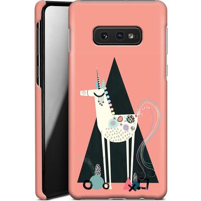 Samsung Galaxy S10e Smartphone Huelle - Unicorn Triangle von Victoria Topping