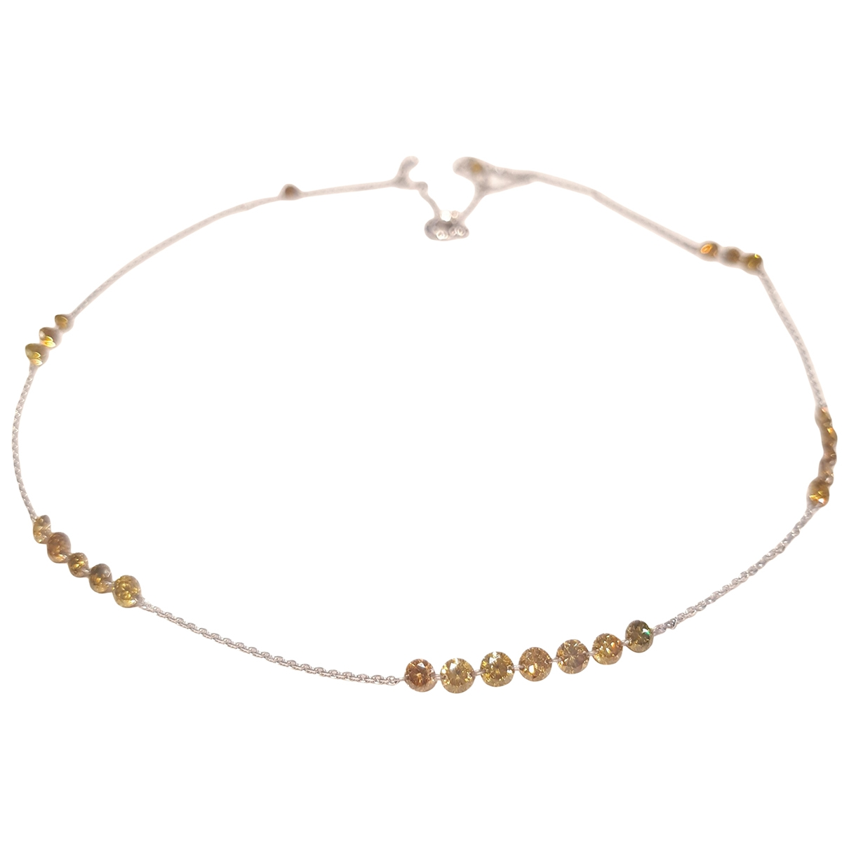 - Collier Motifs Coquillages pour femme en or blanc - jaune
