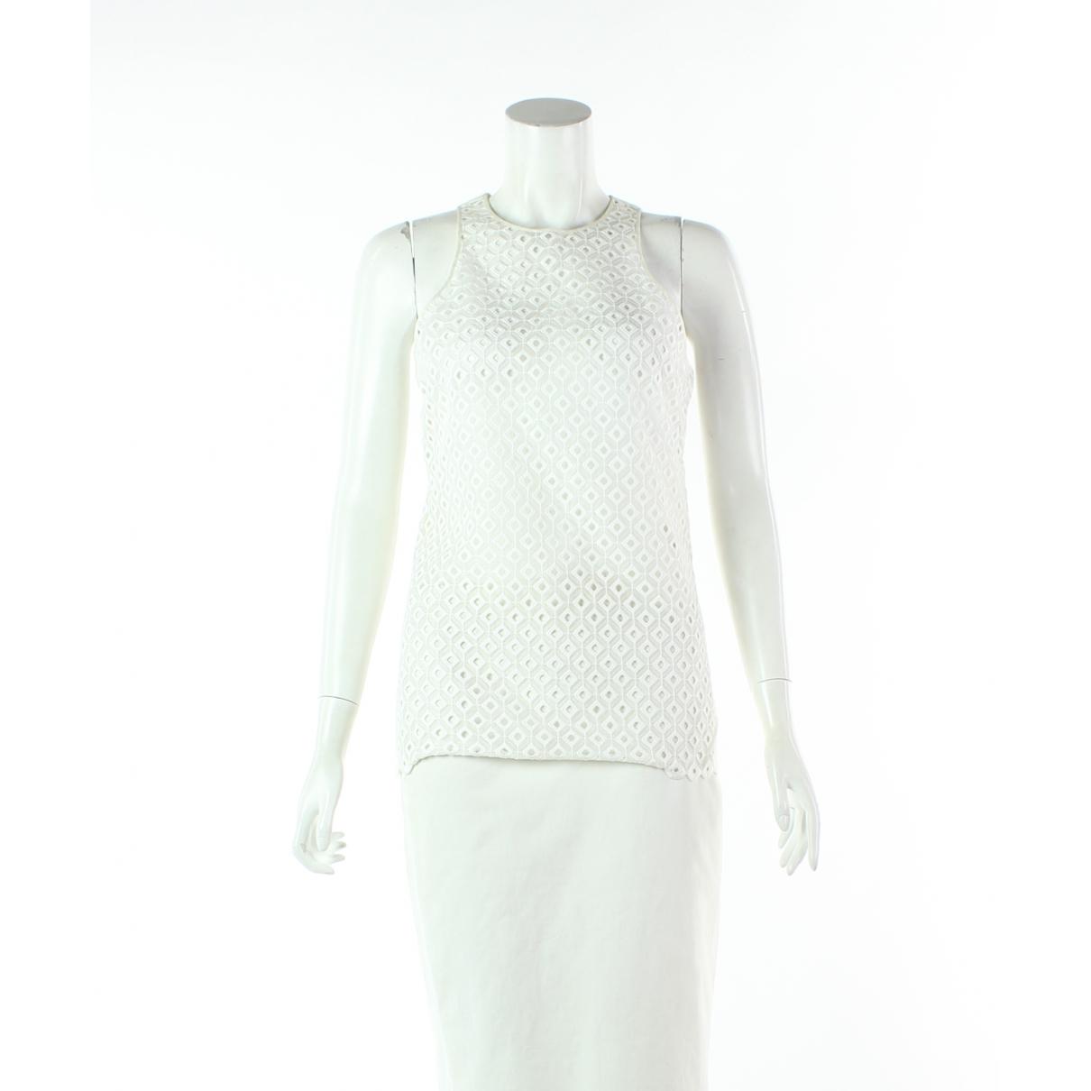 Stella Mccartney - Top   pour femme en coton - blanc