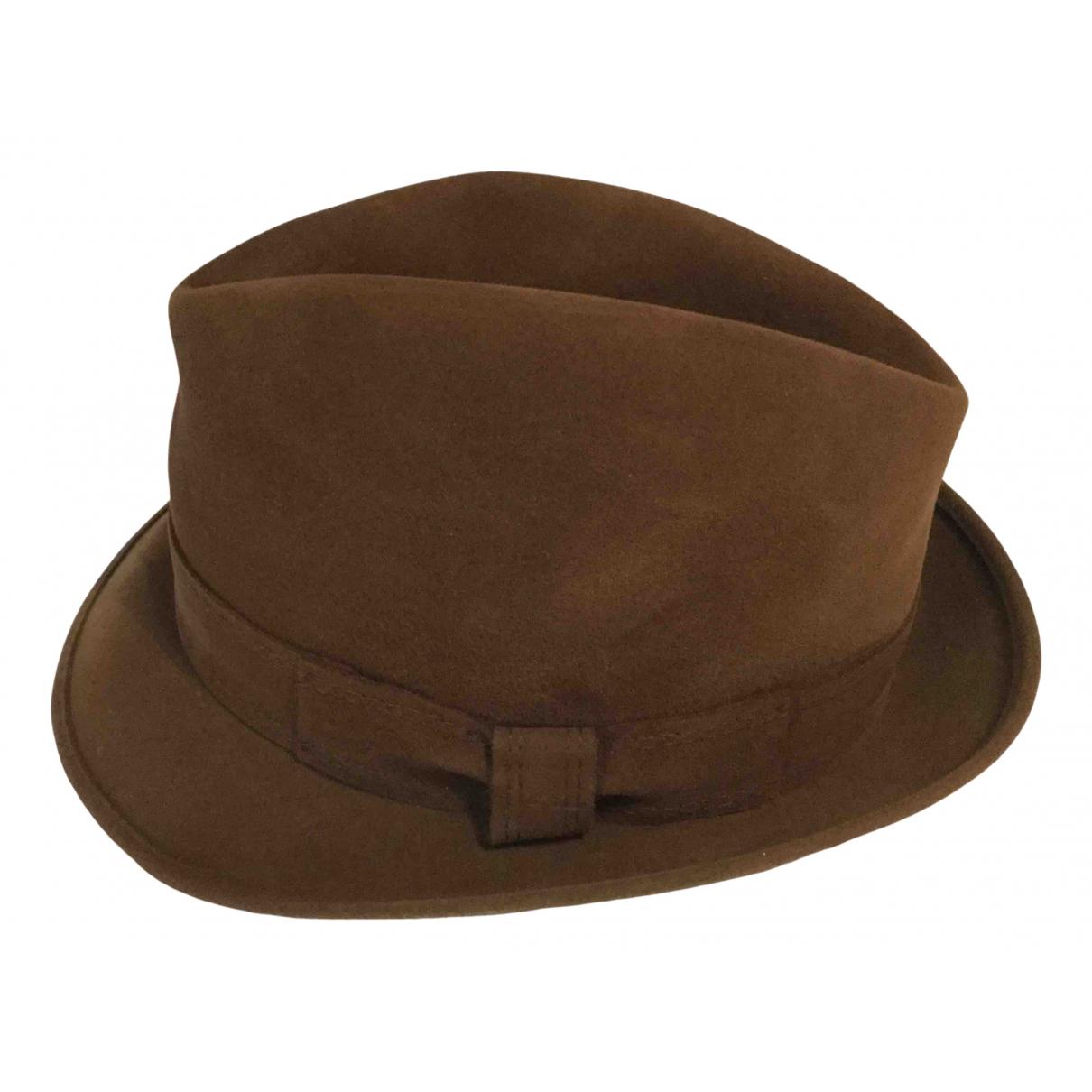 - Chapeau & Bonnets   pour homme en laine - marron