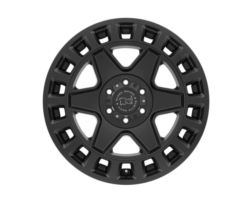 Black Rhino York Matte Black Wheel 20x9 6x120 12mm CB67.1