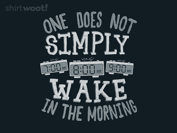 Lord Of The Snooze T Shirt