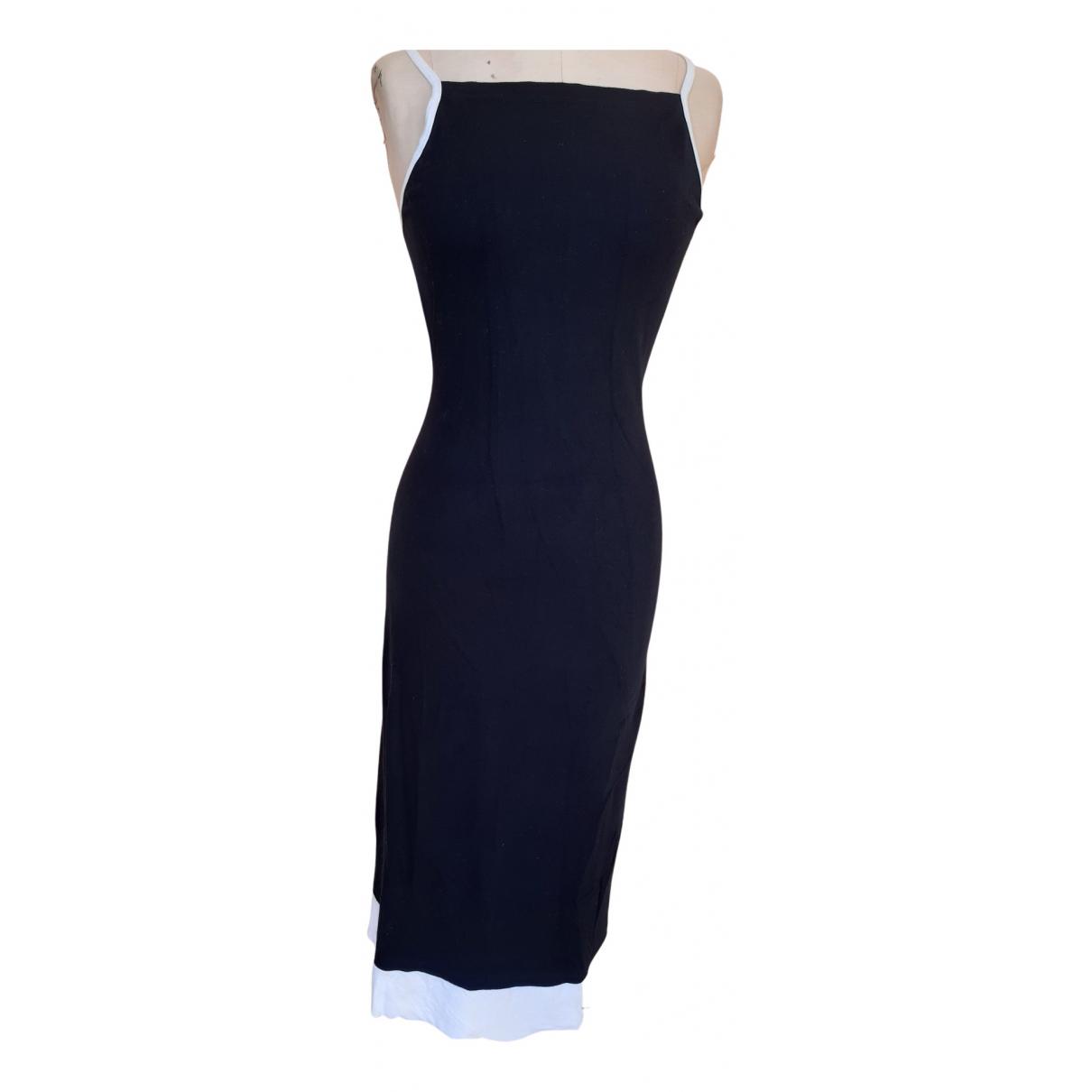 Diesel - Robe   pour femme en coton - elasthane - noir