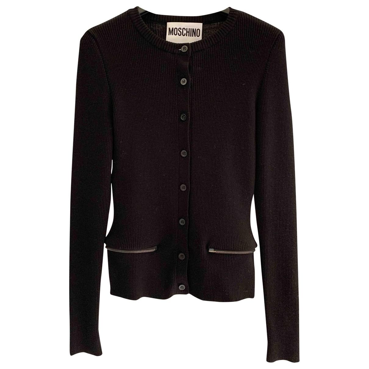 Moschino \N Pullover in  Schwarz Baumwolle