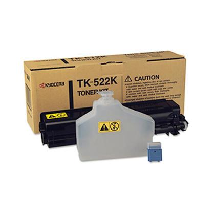 Kyocera-Mita TK-522K originale Black Toner Cartridge