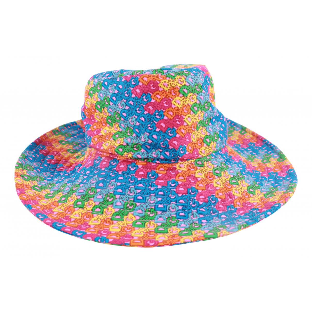 D&g - Chapeau   pour femme en coton - multicolore