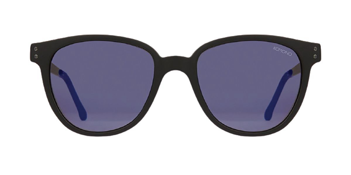 Komono Renee S1734 Women's Sunglasses Black Size 50