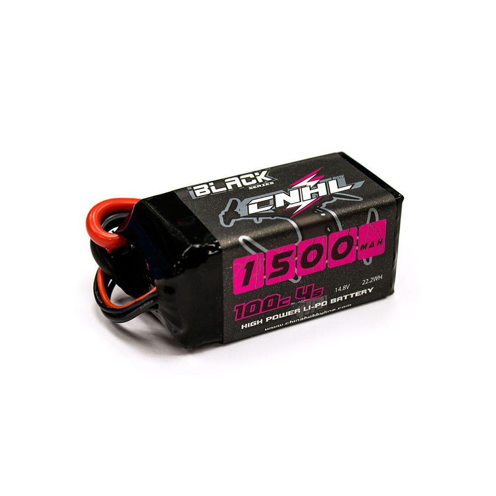 CNHL BLACK SERIES 1500mAh 14.8V 4S 100C Lipo Battery XT60 Plug for RC Drone FPV Racing
