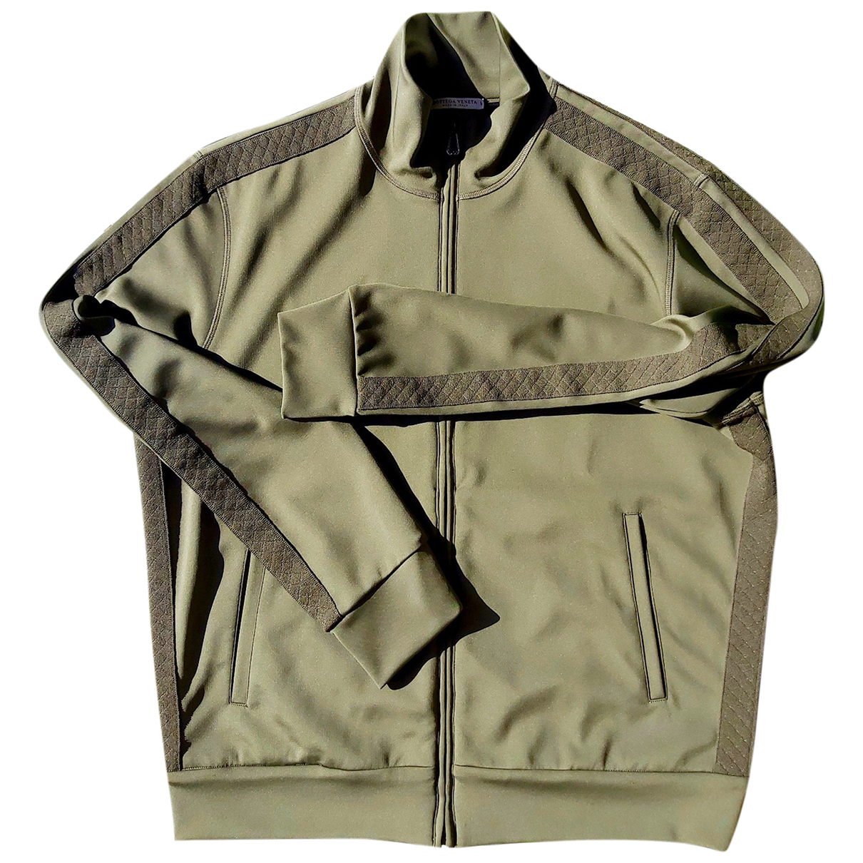 Bottega Veneta \N Pullover.Westen.Sweatshirts  in  Gruen Synthetik