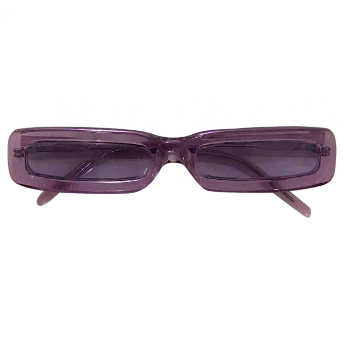 George Keburia \N Purple Sunglasses for Women \N