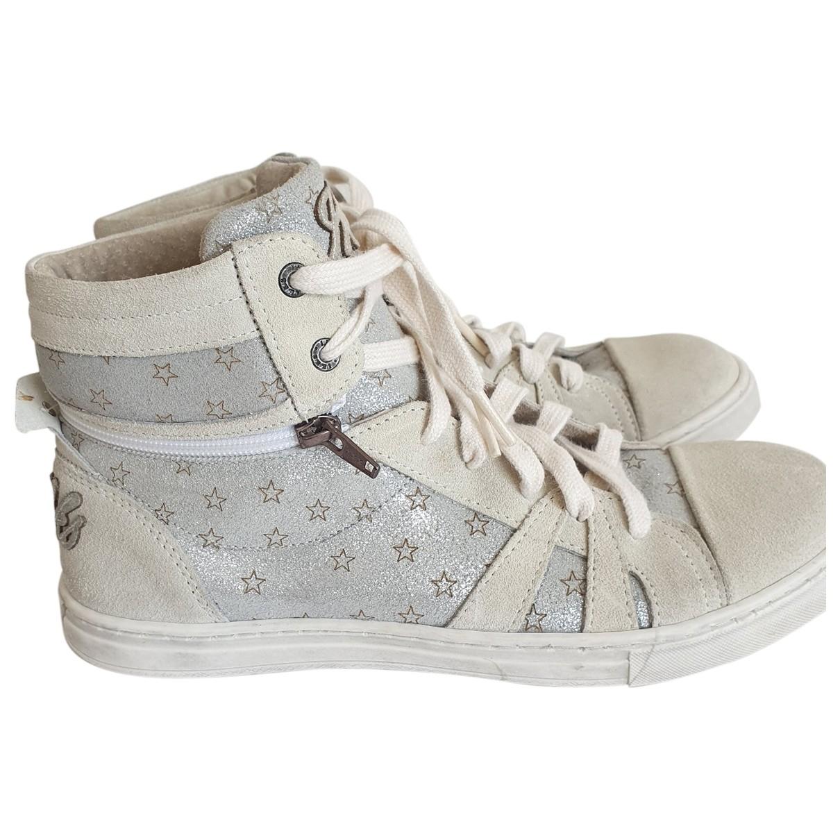 Ikks \N Sneakers in  Grau Mit Pailletten