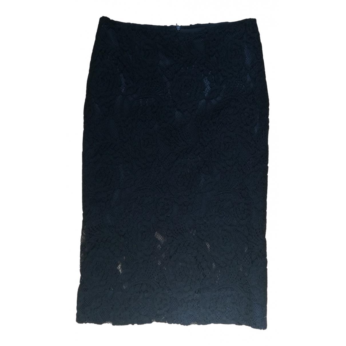 Ermanno Scervino \N Rocke in  Schwarz Wolle