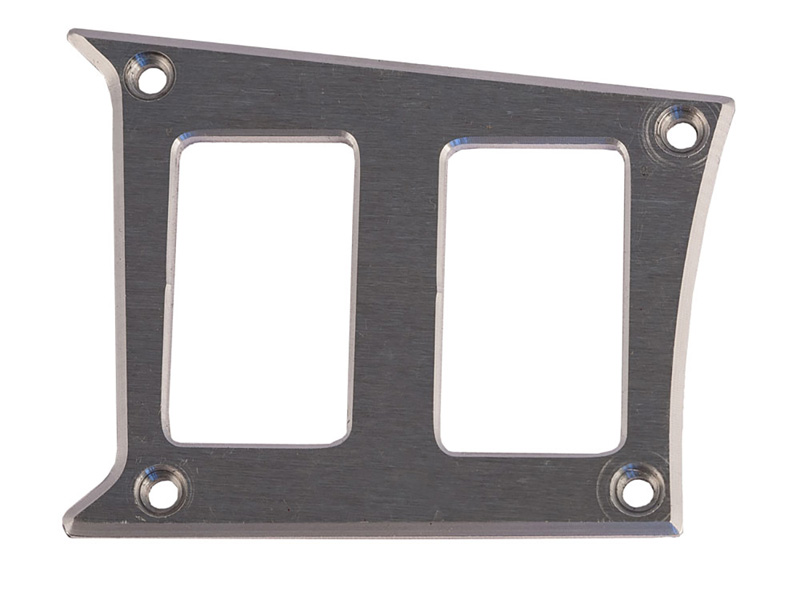 Center Dash Left Side 2 Switch Plate for Polaris RZR Raw PRP Seats ODL-217340