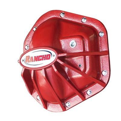 Rancho RockGEAR Dana 60 10-Bolt Differential Cover (Red) - RS6245