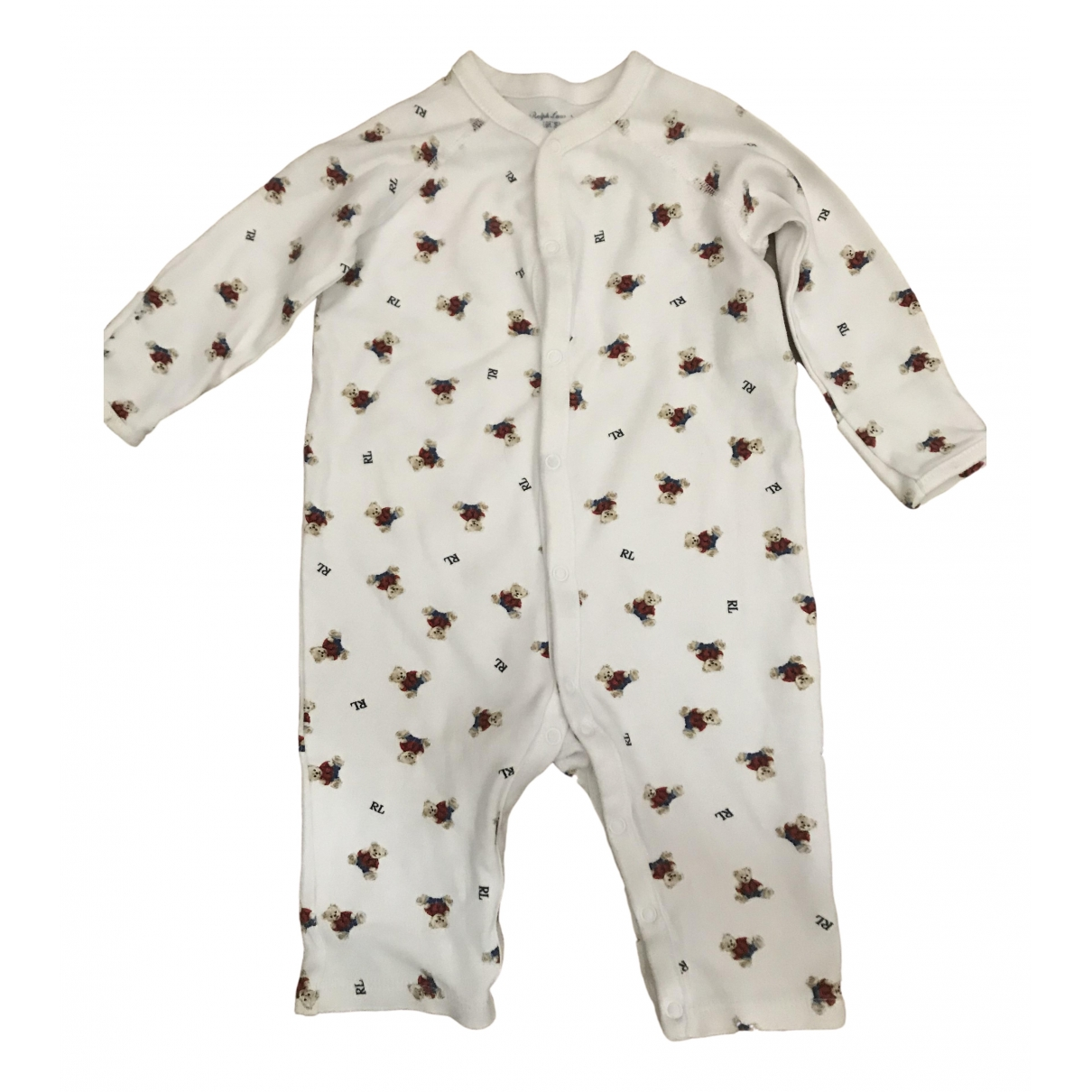 Ralph Lauren \N White Cotton Outfits for Kids 6 months - until 26.5 inches UK