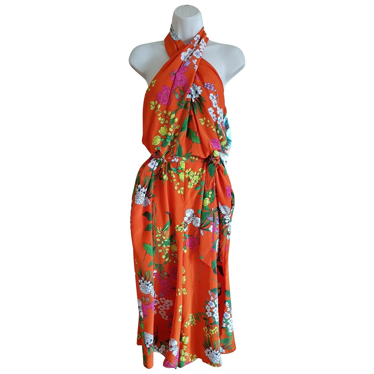 Karen Millen - Combinaison   pour femme en soie - multicolore