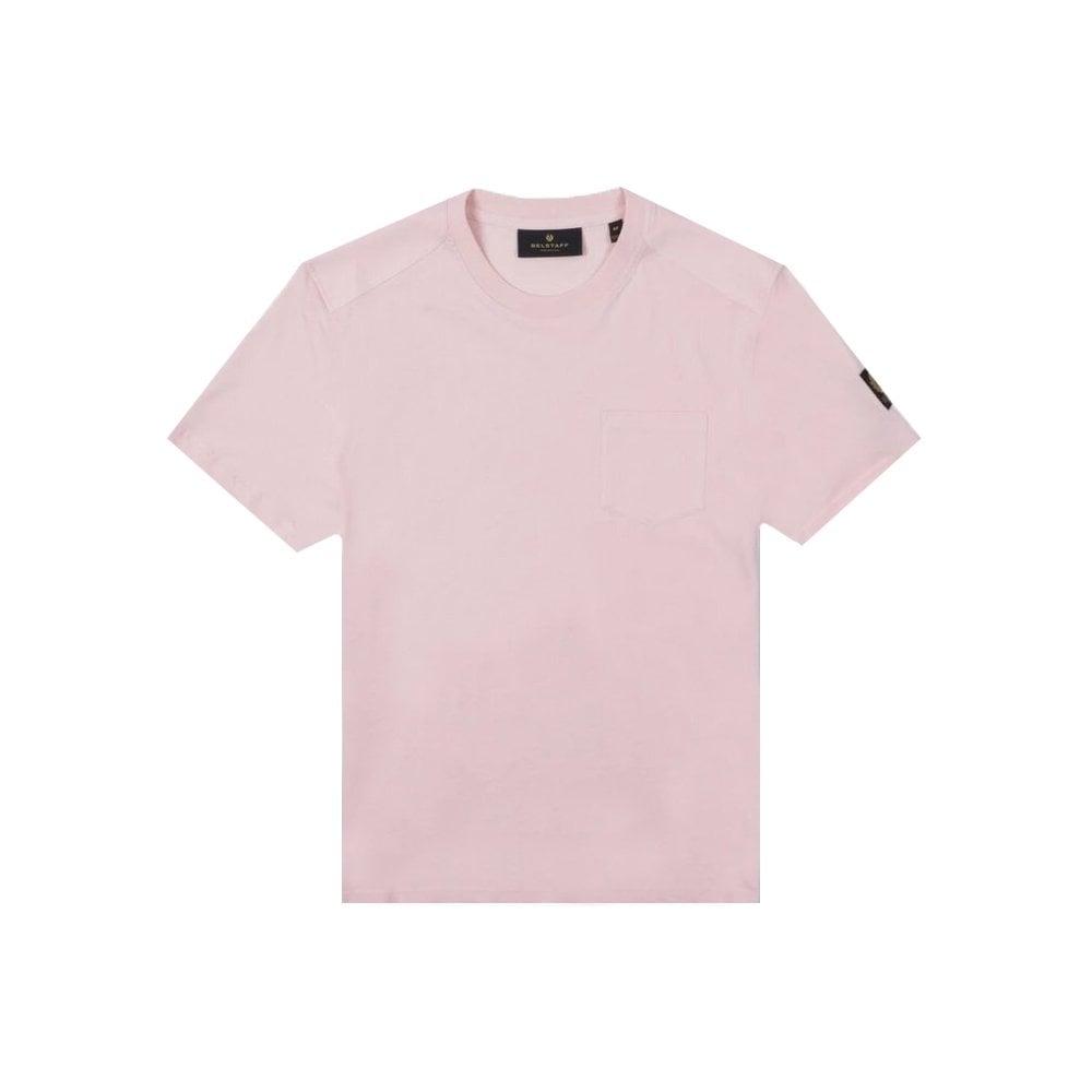 Belstaff Thom 2.0 T-shirt Colour: PINK, Size: LARGE