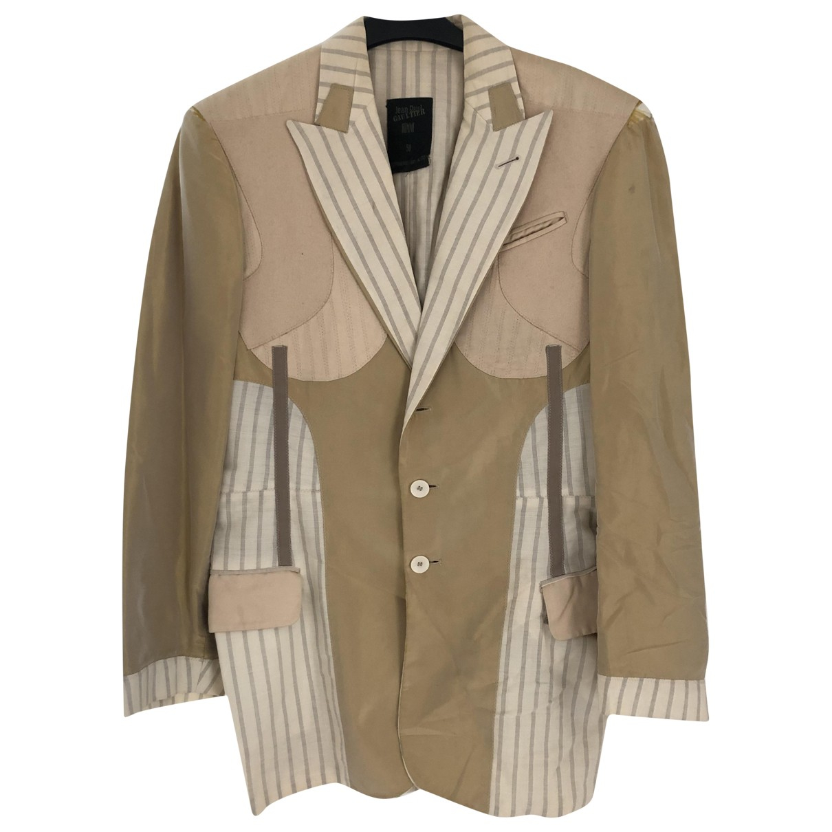 Jean Paul Gaultier \N Gold jacket  for Men 46 UK - US