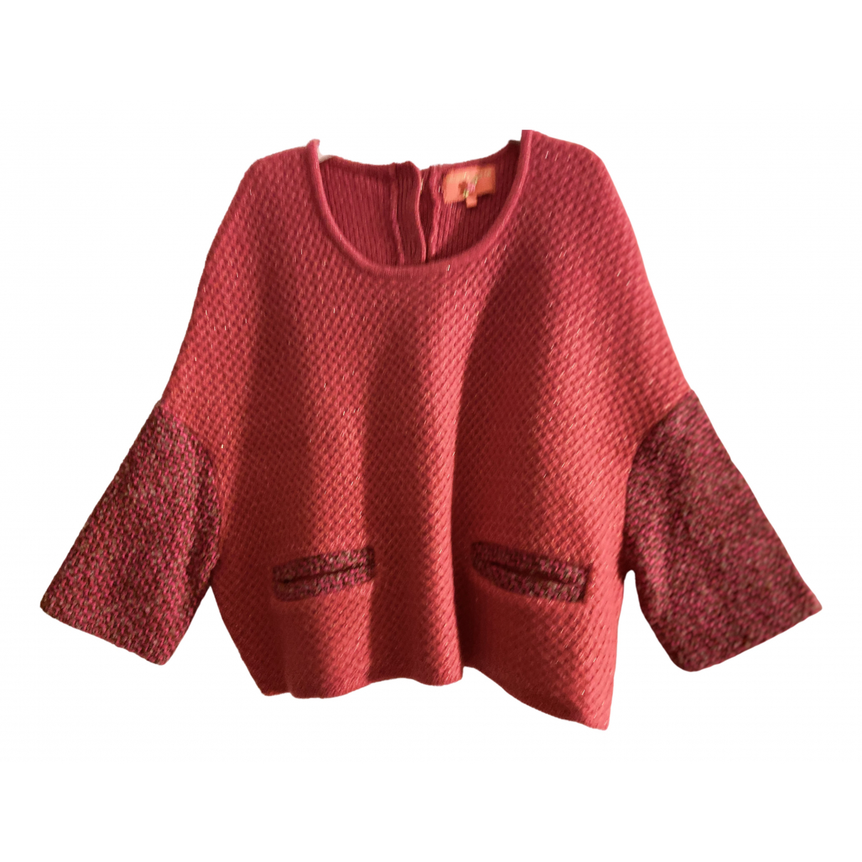 Manoush - Pull   pour femme en laine - multicolore