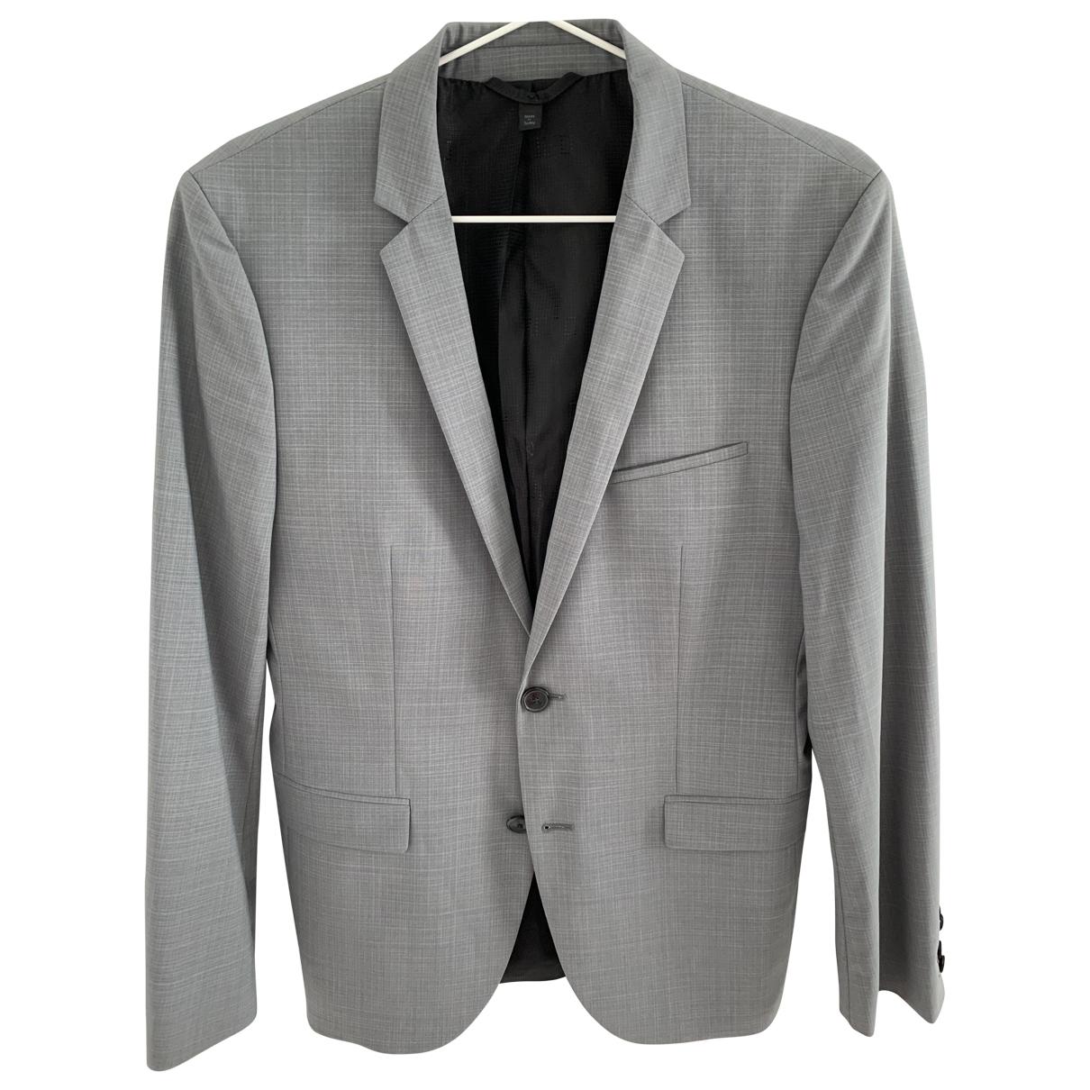 Hugo Boss \N Grey Wool jacket  for Men 46 IT