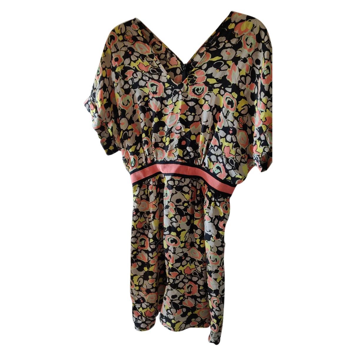 Tara Jarmon \N Orange Silk dress for Women 36 FR