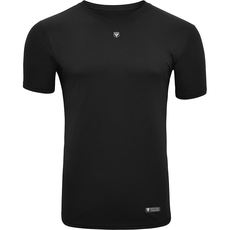 RDX T2 T-Shirt noir a manches courtes pour le sport Petite