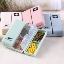 1pc 7 Grid Random Pill Storage Box