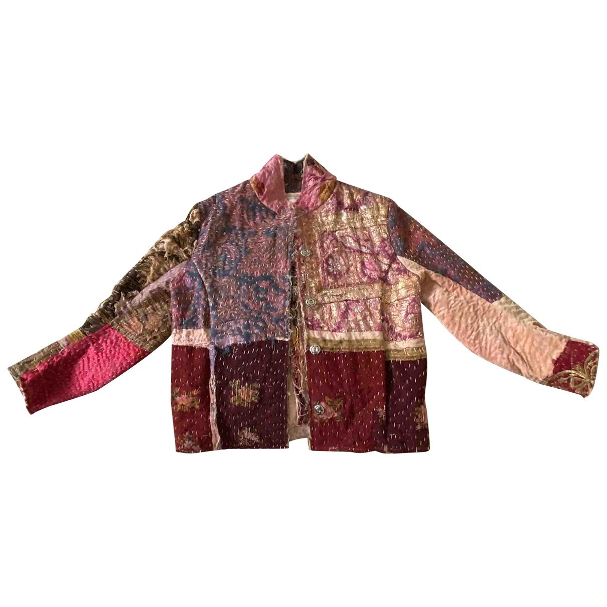 By Walid - Veste   pour femme en soie - multicolore