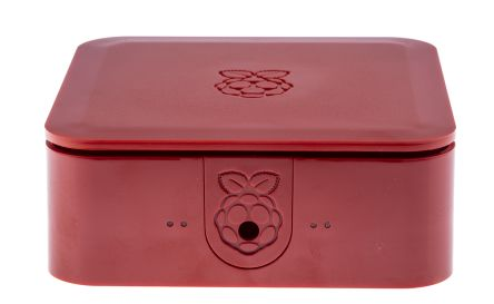 DesignSpark Quattro Series For Use With Raspberry Pi 2, Raspberry Pi 3, Raspberry Pi B+, Red Raspberry Pi Case