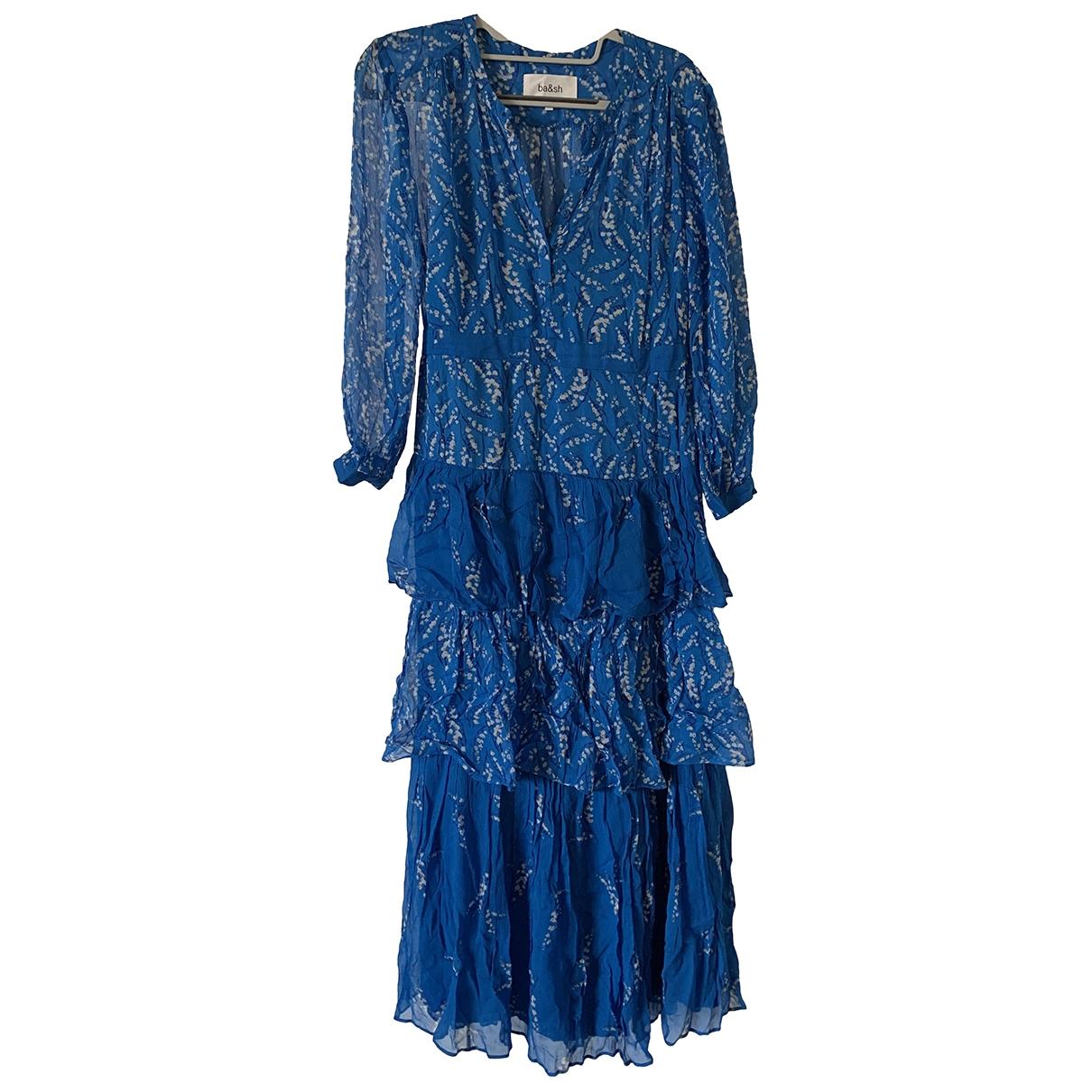 Ba&sh Spring Summer 2020 Kleid in  Blau Polyester